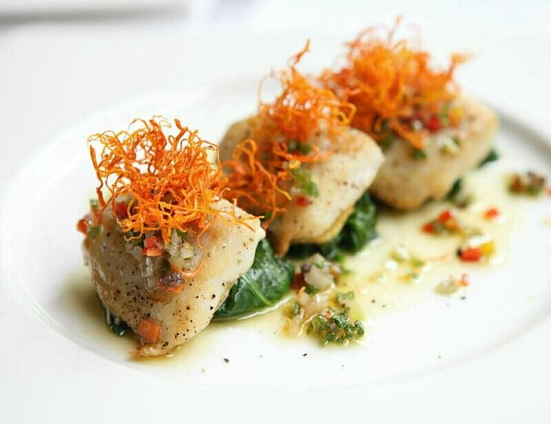 Bocconcini di Pesce spada con verdure