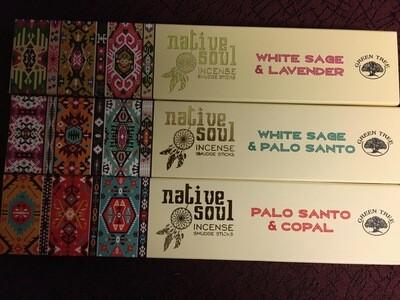 Native Soul Incense