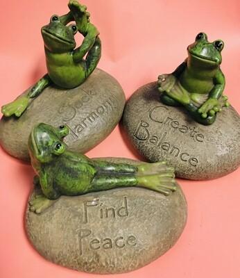 Decorative Yoga Frog