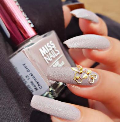 Sugar Matte Charcoal Grey