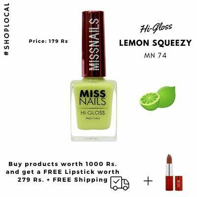 Hi-Gloss Lemon Squeezy