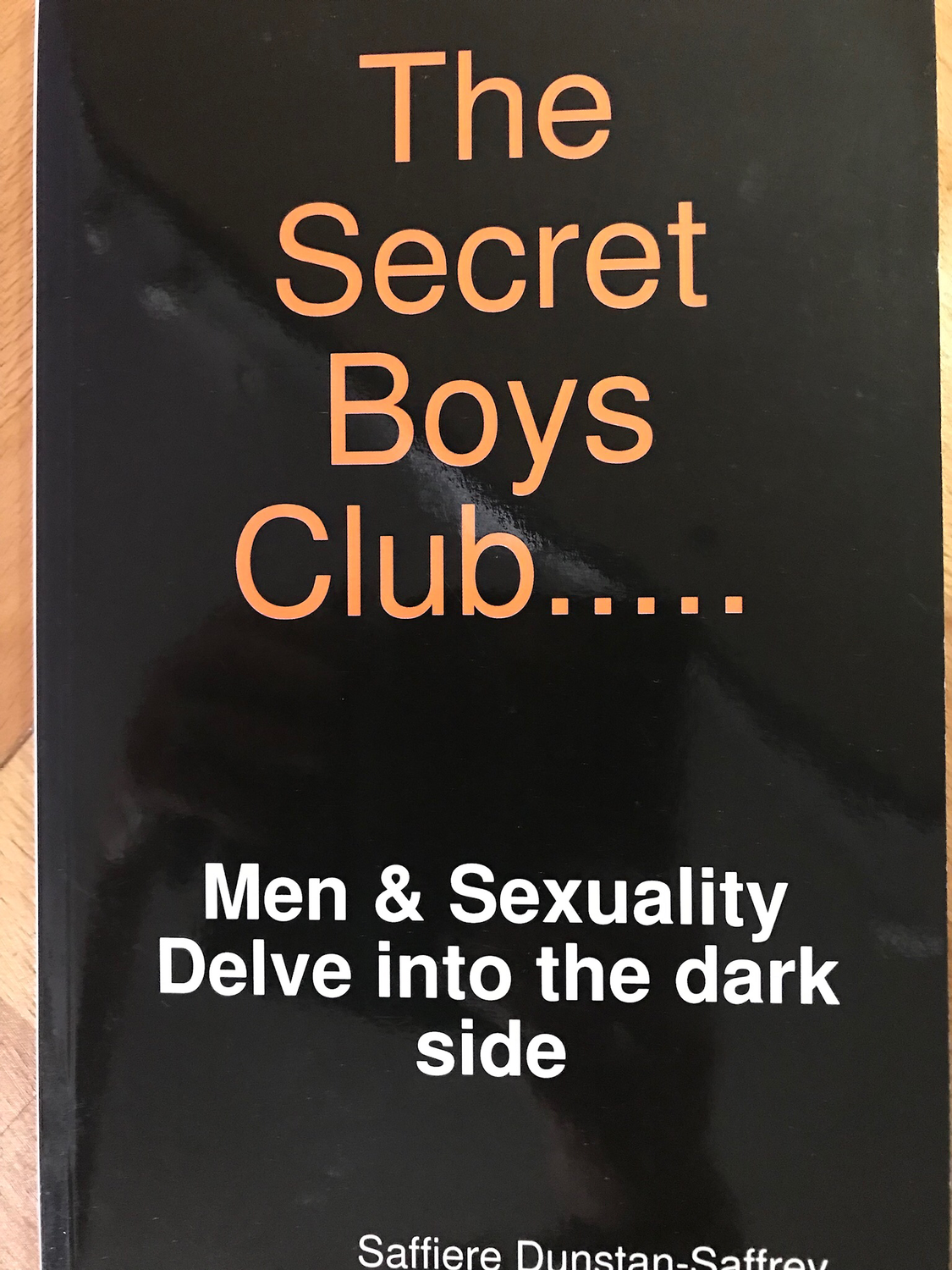 The Secret Boys Club (Book)