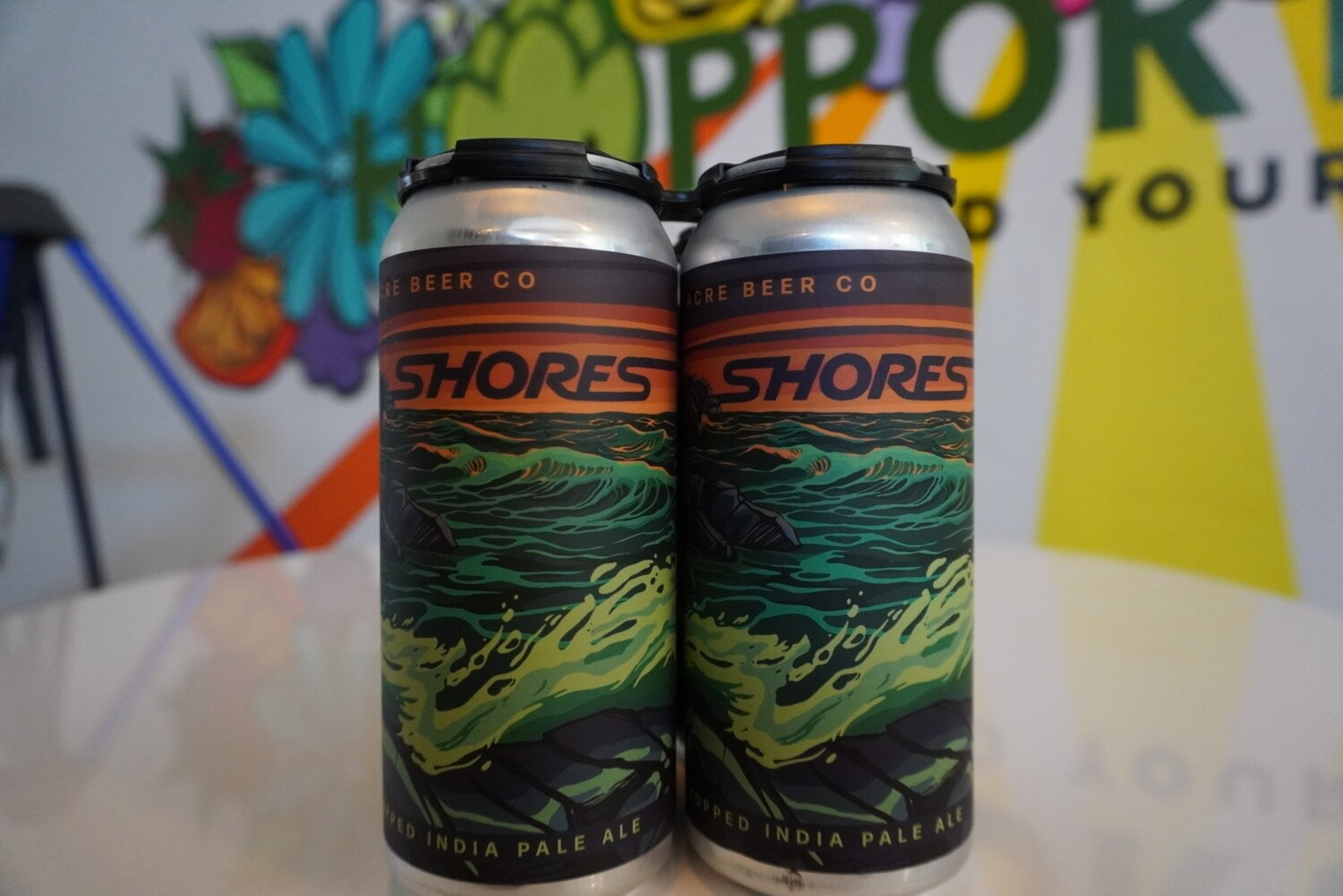 Half Acre - Shores - New England IPA - 6% ABV - 4 Pack