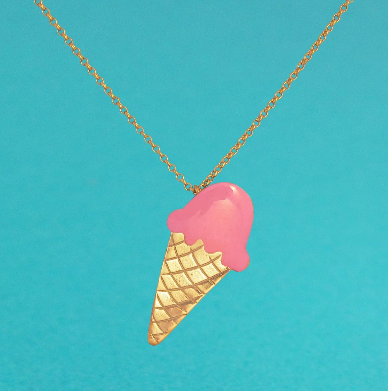 Collier Ice Cream Rose