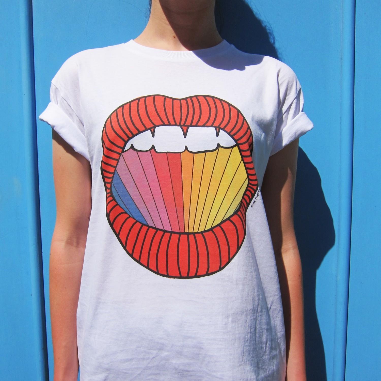 Tee-shirt Rainbow - modèle mixte