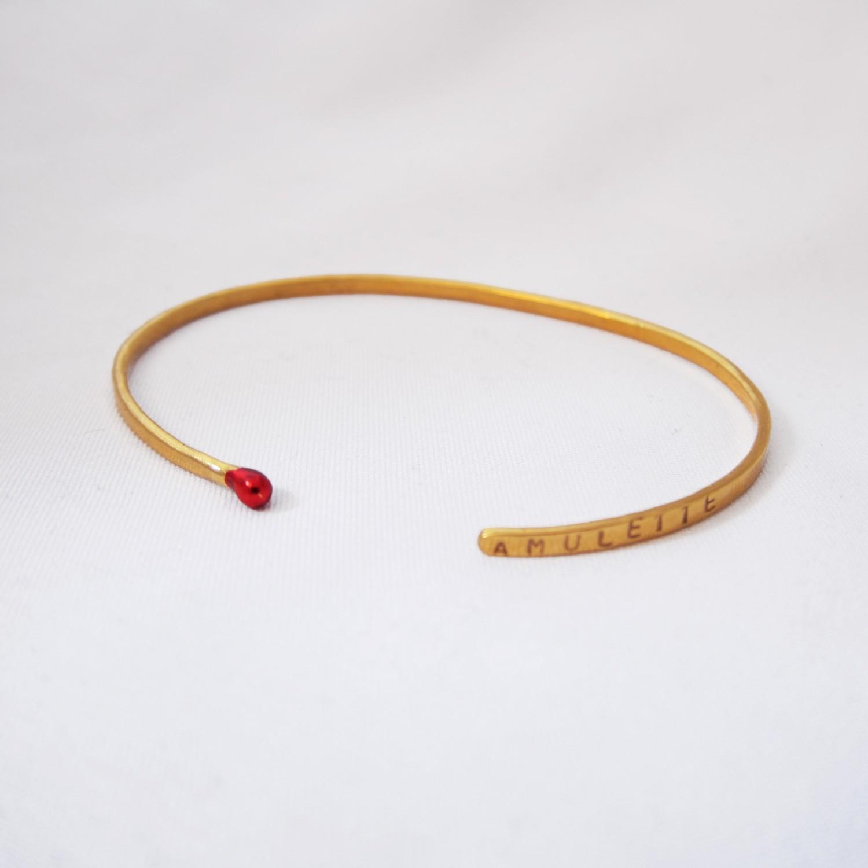 Bracelet - Mini Jonc Amulette