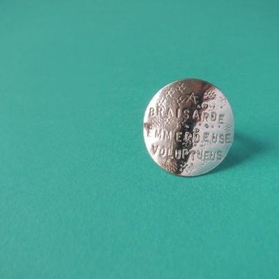 Bague Médaille