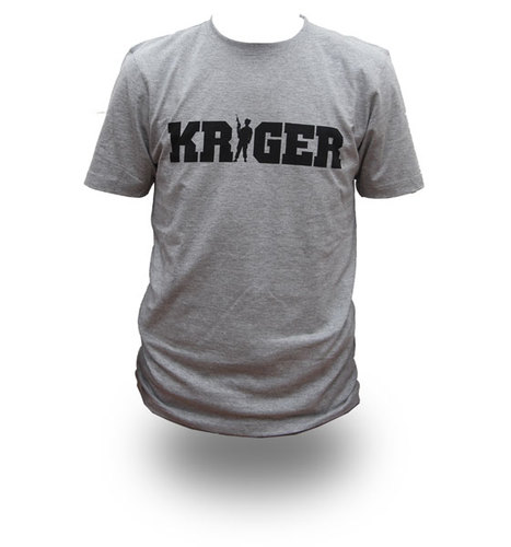 KRIGER, T-shirt - *LARGE* TILBUD !