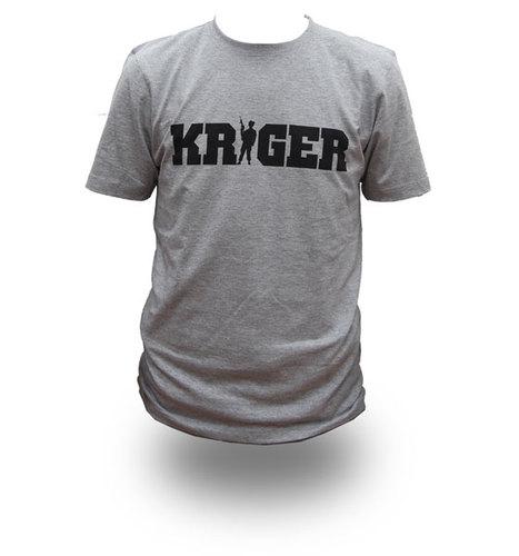 KRIGER, T-shirt - *XL* TILBUD !!