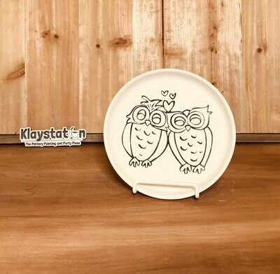 Love Owls Plate