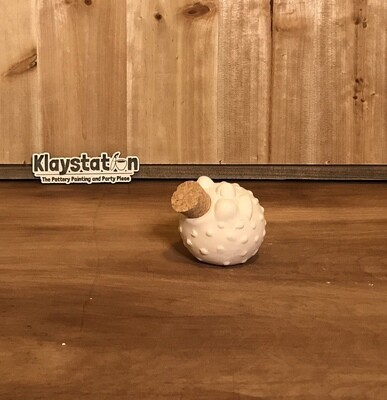 Blowfish Cork Jar