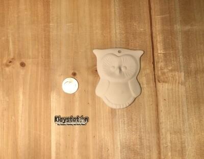 Puffy Owl Ornament