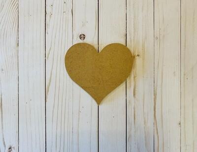 Sm. Heart MDF Board