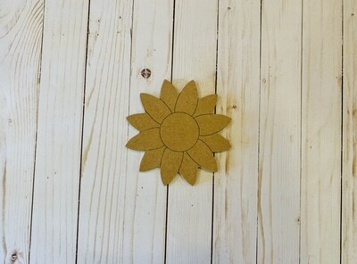 Sm Sunflower MDF Board
