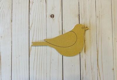 Sm Bird MDF Board