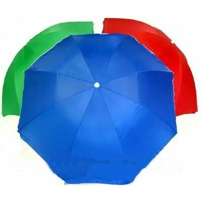 Зонт вуличний 2.2 метра 10 спиць з anti-UF напиленням і антиураганним клапаном