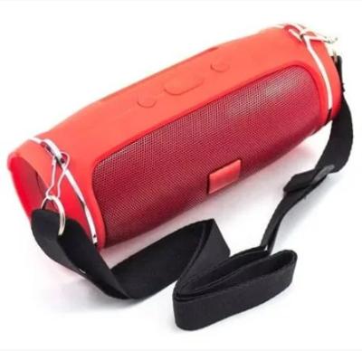 Бездротова портативна колонка + FM радіо Bluetooth Mp3 MicroSD USB 6000mAh