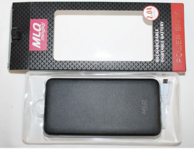 УМБ Power Bank MLQ-909 10000 mAh 2xUSB вихід по 2.0 A і 1 вхід Micro-USB