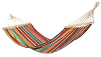 Гамак мексиканський тканинний 100*200 см з довгими планками