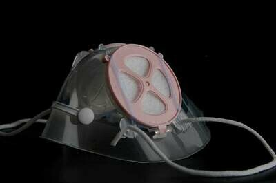 M/S mask with nose-clip (Pinky healthy)