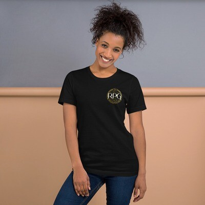 RPG Logo, Short-Sleeve Unisex T-Shirt