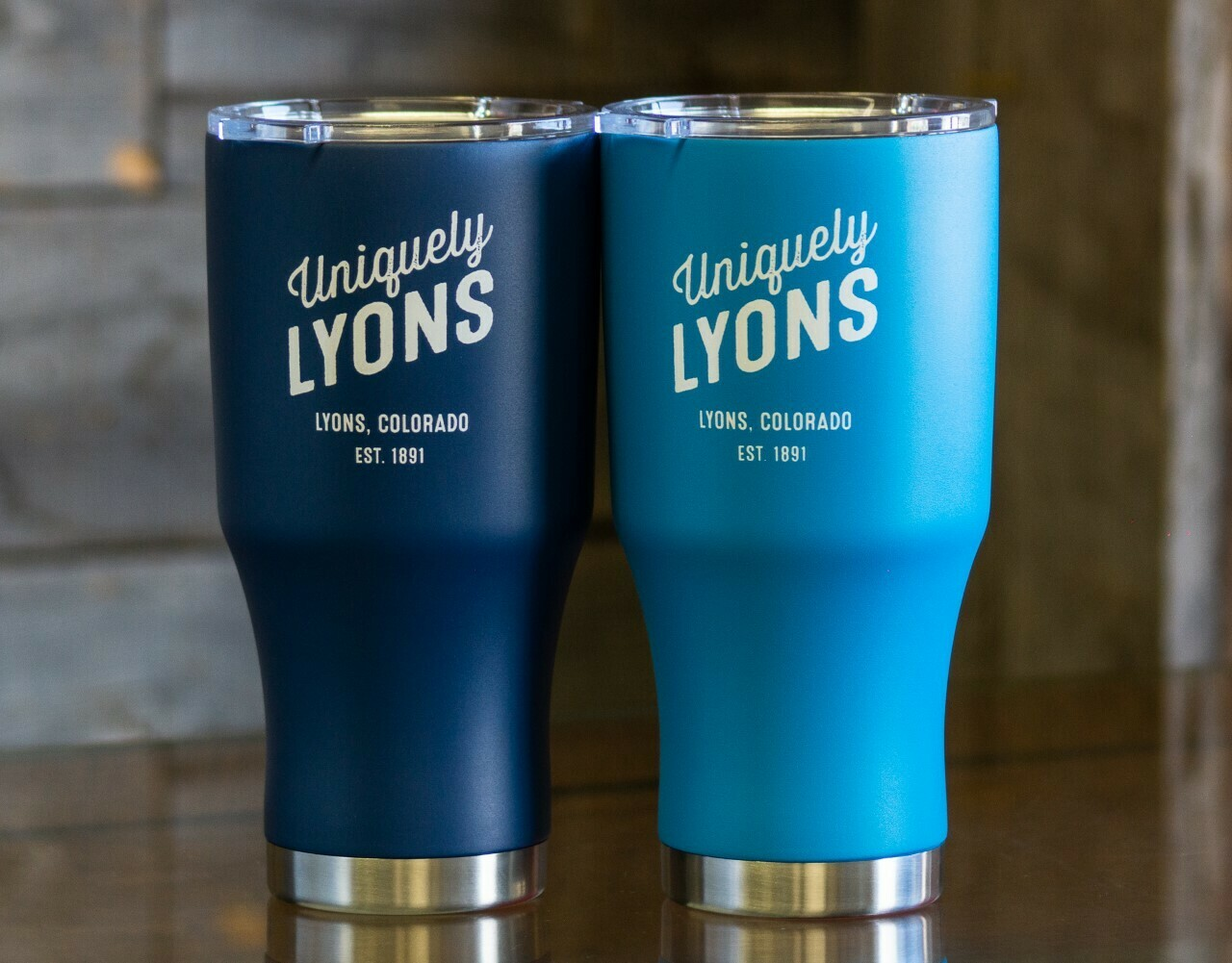 Summit 28 Ounce Thermal Tumbler-Navy