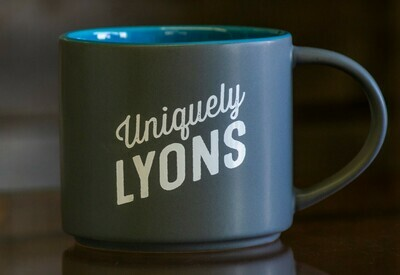 Monico Mug Grey and Blue
