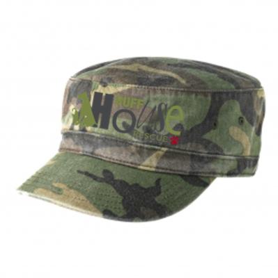 Biowashed Camo Military Hat
