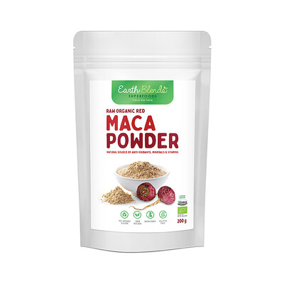 Earth Blends Red Maca Powder (200g)