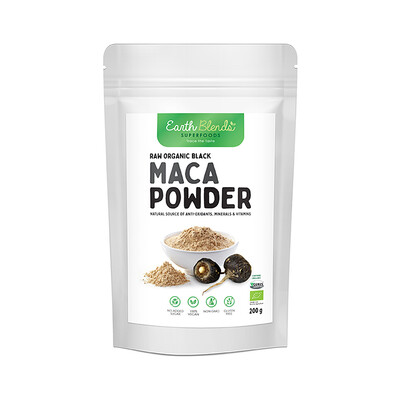Earth Blends Black Maca Powder (200g)