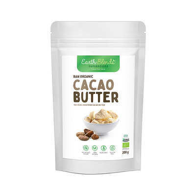 Earth Blends Cacoa Butter (200g)