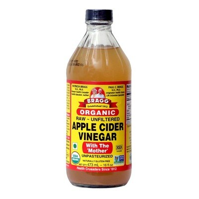 Bragg Organic Raw Apple Cider Vinegar (473ml)