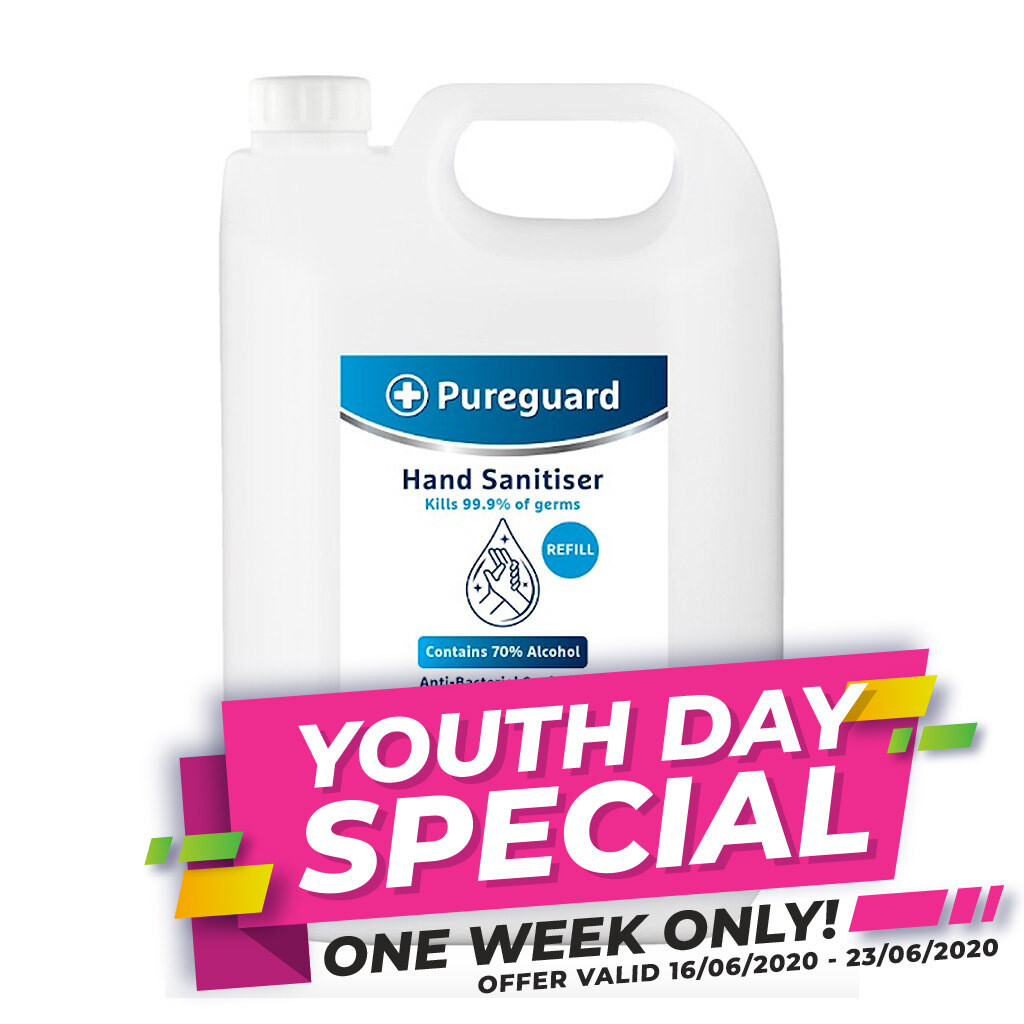 *SPECIAL OFFER* Pureguard Hand & Surface Sanitiser 70% - 5L