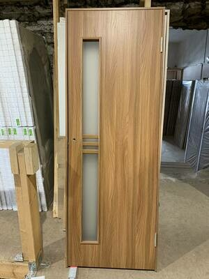 Межкомнатная дверь с-12 акация 740*2030 правая (образец)