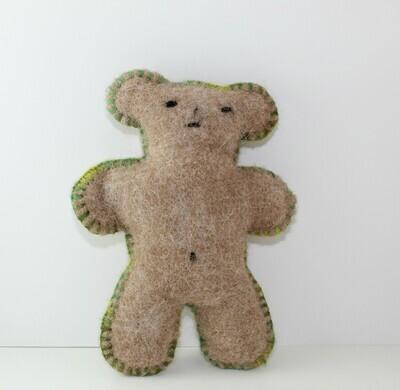 Felted Teddy Bears and Alpacas 9