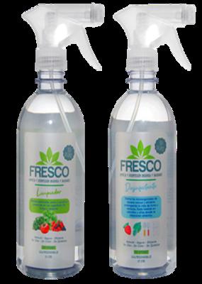 Kit limpiador y desinfectante de frutas y verduras