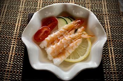 Shrimp Sunomono