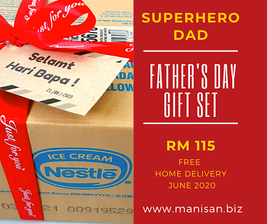 SUPERHERO DAD Father's Day Gift Set
