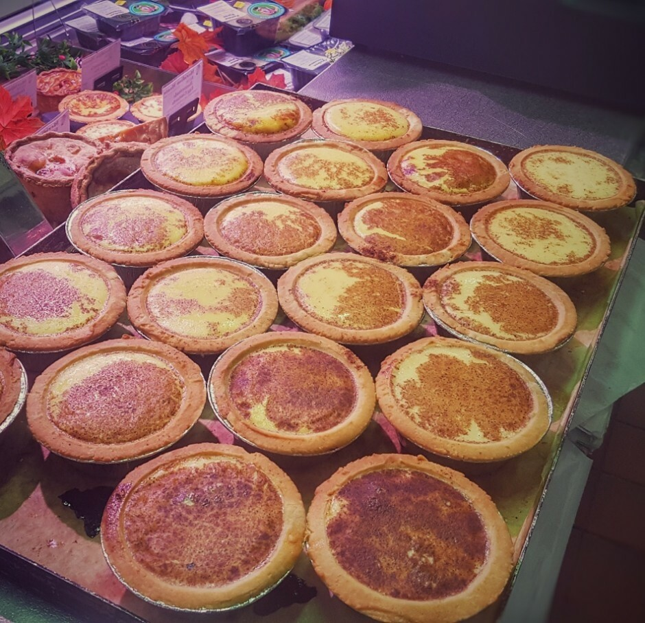 Egg Custard Tarts x 2