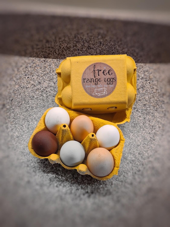 Our Own Free Range Eggs
