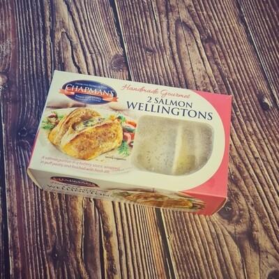 Salmon Wellingtons
