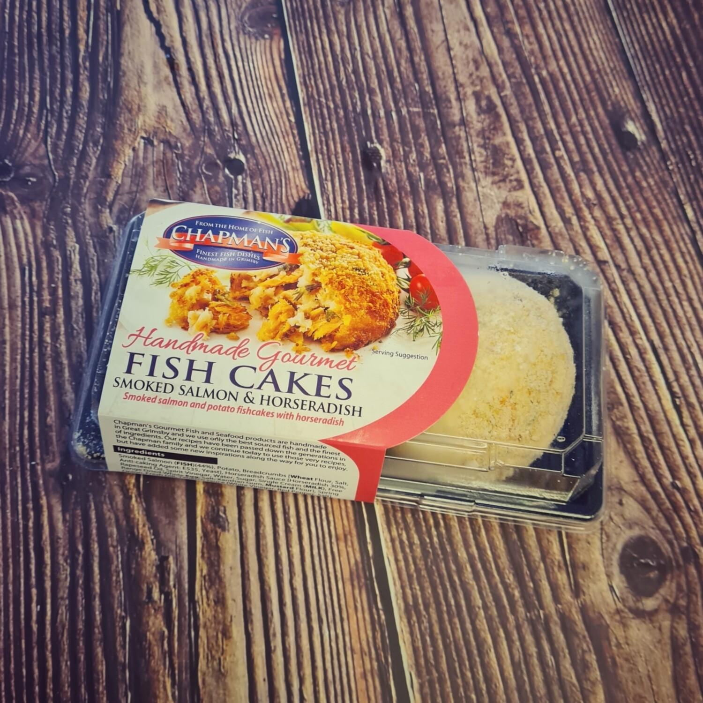 Smoked Salmon & Horseradish Fish Cakes