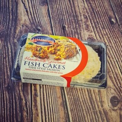 Thai Style Salmon Fish Cakes