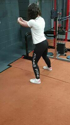 Fitlinks Fitness branded, cool tech leggings