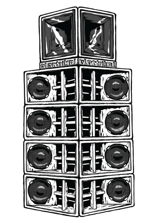 Danley Stack | A3 Print