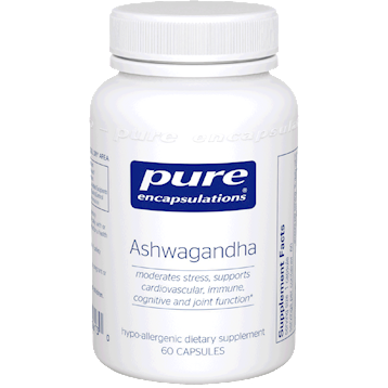 ASHWAGANDHA 60 CAPS - PURE ENCAPSULATION