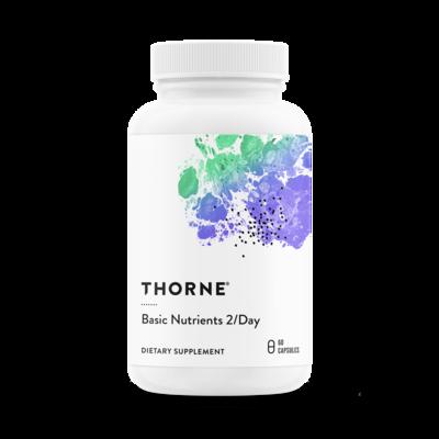 THORNE BASIC NUTRIENTS 2/DAY