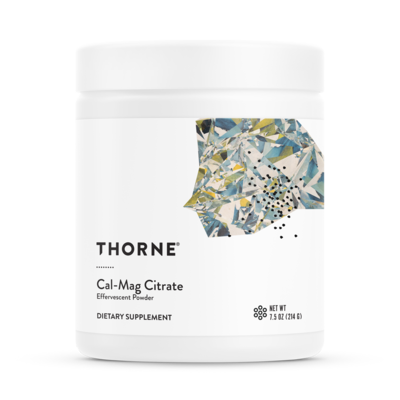 THORNE CALCIUM-MAGNESIUM CITRATE POWDER