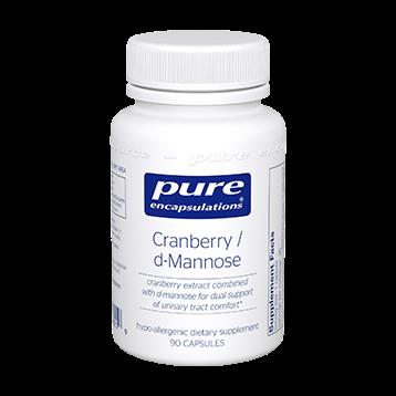 CRANBERRY/D-MANNOSE - PURE ENCAPSULATIONS