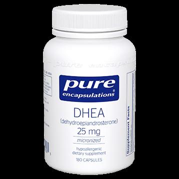 DHEA 25MG 180 CAPS - PURE ENCAPSULATIONS